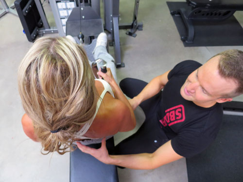 Personal Trainer Leuven row